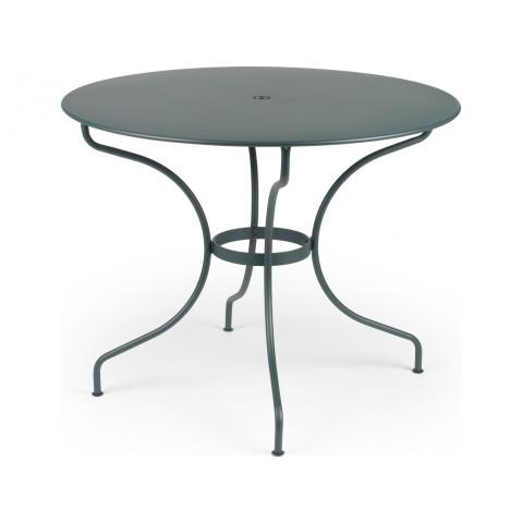 Table ronde D.96 OPÉRA de Fermob cèdre