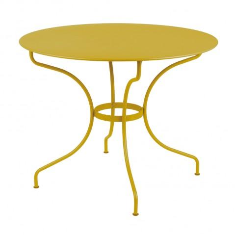 Table ronde D.96 OPÉRA de Fermob Miel