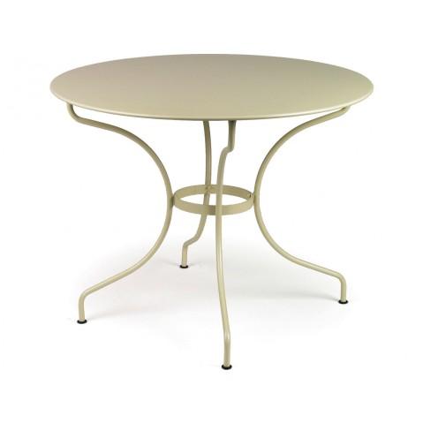 Table ronde D.96 OPÉRA de Fermob muscade