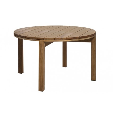 Table ronde KOS TEAK de Tribù