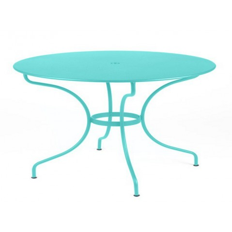 Table ronde OPÉRA D.117 de Fermob Bleu lagune