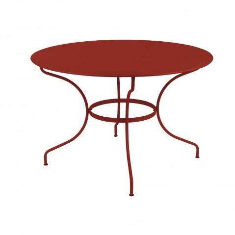 Table ronde OPÉRA D.117 de Fermob piment