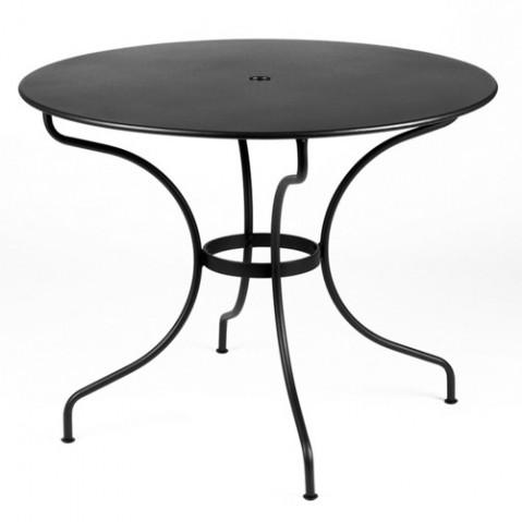 Table ronde OPÉRA D.96 de Fermob Carbone