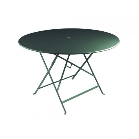 Table ronde pliante BISTRO de Fermob D.117 x H.74 cm Cèdre