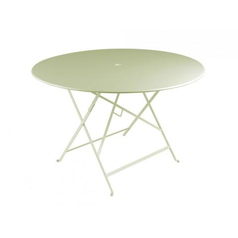 Table ronde pliante BISTRO de Fermob D.117 x H.74 cm Tilleul