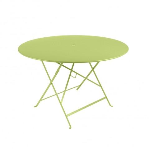 Table ronde pliante BISTRO de Fermob D.117 x H.74 cm Verveine