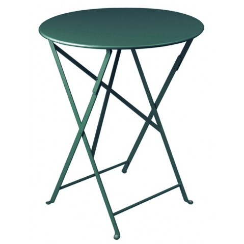 Table ronde pliante BISTRO de Fermob D.60 x H.74 cm Cèdre
