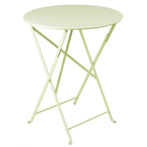 Table ronde pliante BISTRO de Fermob D.60 x H.74 cm Tilleul