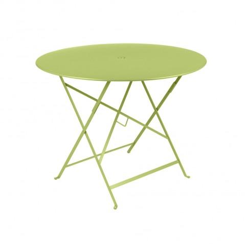 Table ronde pliante BISTRO de Fermob D.96 x H.74 cm Verveine