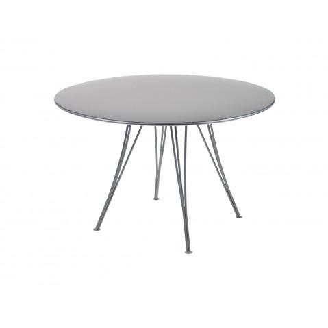 Table ronde RENDEZ-VOUS de Fermob gris orage