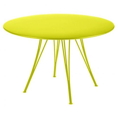 Table ronde RENDEZ-VOUS de Fermob verveine