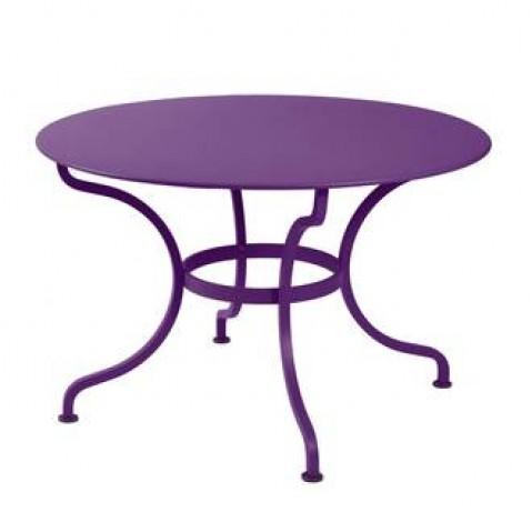 Table ronde ROMANE 117 cm de Fermob aubergine