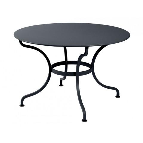 Table ronde ROMANE 117 cm de Fermob, Carbone