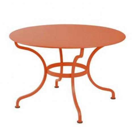 Table ronde ROMANE 117 cm de Fermob carotte