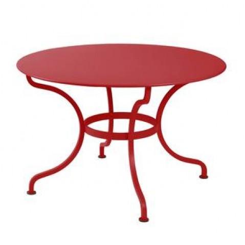 Table ronde ROMANE 117 cm de Fermob coquelicot