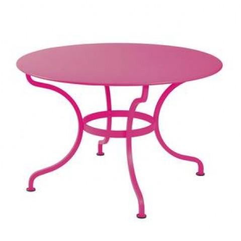 Table ronde ROMANE 117 cm de Fermob fuchsia