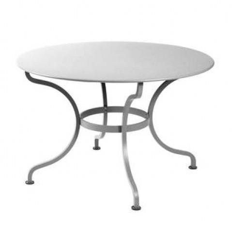 Table ronde ROMANE 117 cm de Fermob gris métal