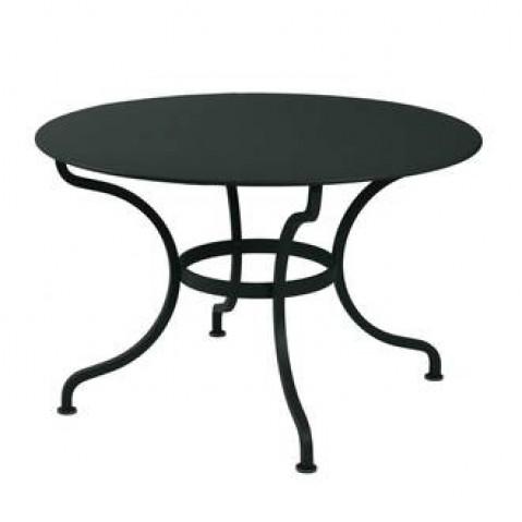 Table ronde ROMANE 117 cm de Fermob noir réglisse