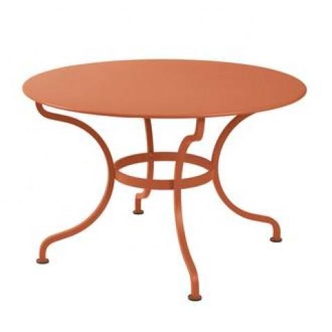 Table ronde ROMANE 117 cm de Fermob paprika