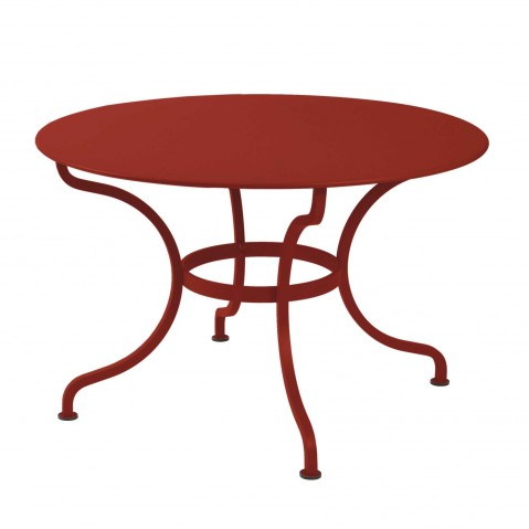 Table ronde ROMANE 117 cm de Fermob piment