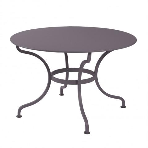 Table ronde ROMANE 117 cm de Fermob, Prune