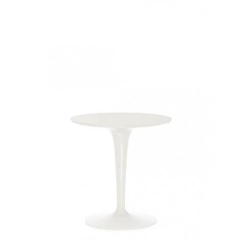Table ronde TIP TOP de Kartell, Blanc