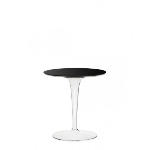 Table ronde TIP TOP de Kartell, Noir Opaque