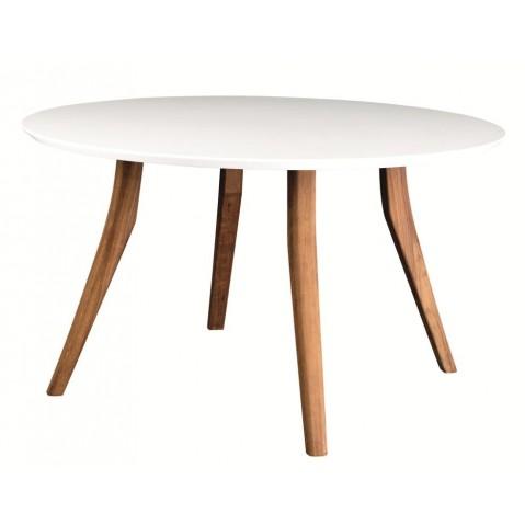 Table ronde ZIDIZ de Royal Botania-Blanc - Céramique