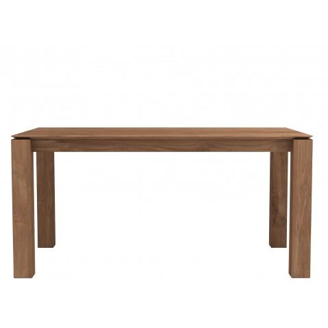 Table SLICE en teck d'Ethnicraft-L. 160x90cm