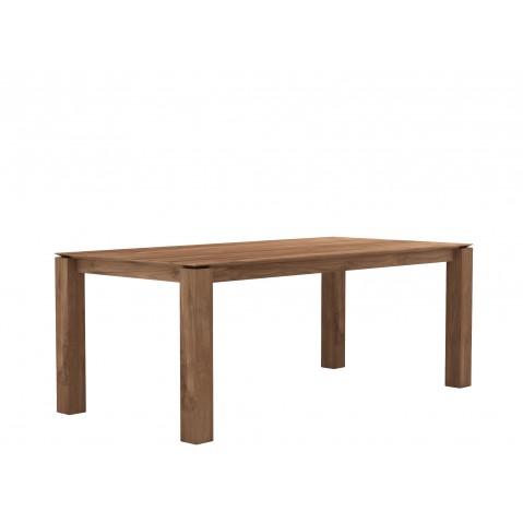 Table SLICE en teck d'Ethnicraft