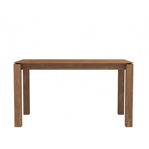 Table SLICE en teck d'Ethnicraft, 140x80cm