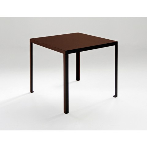 Table TAVOLO de Zeus, Rouille