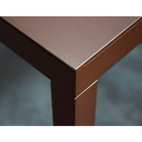 Table TAVOLO de Zeus, Rouille, 200 x 90 x H 72