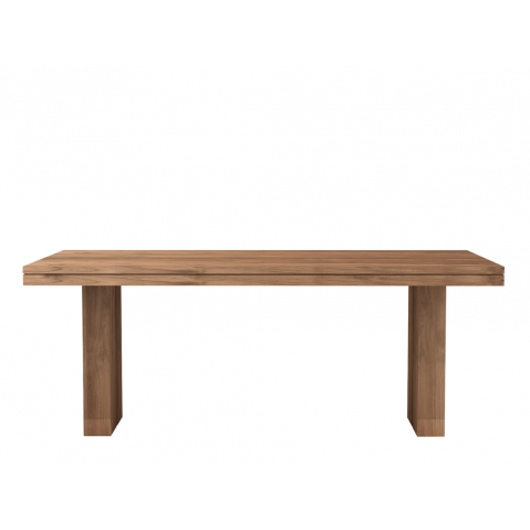 Table TECK DOUBLE d'Ethnicraft-L. 200