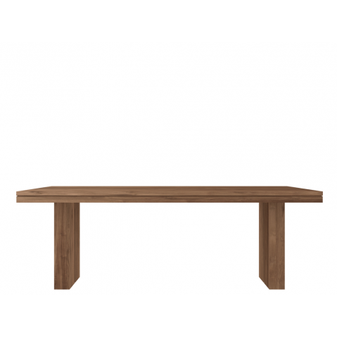 Table TECK DOUBLE d'Ethnicraft-L. 220