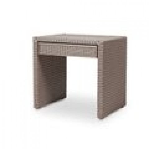 Tables Basses Vincent Sheppard Pong night table Chocolate-02