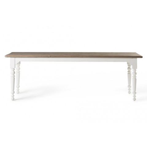 Tables hautes Faxon de Flamant, Blanc