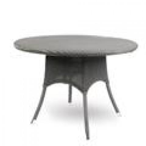 Tables hautes Vincent Sheppard Nîmes round 110/130 dark grey wash-02