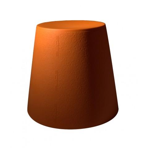 Tabouret ALI BABA de Slide orange