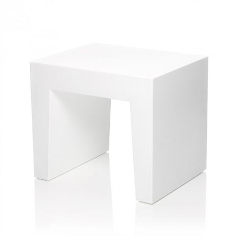 Tabouret CONCRETE SEAT de Fatboy, White