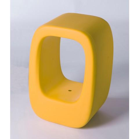 Tabouret LAZY BONES de Slide jaune