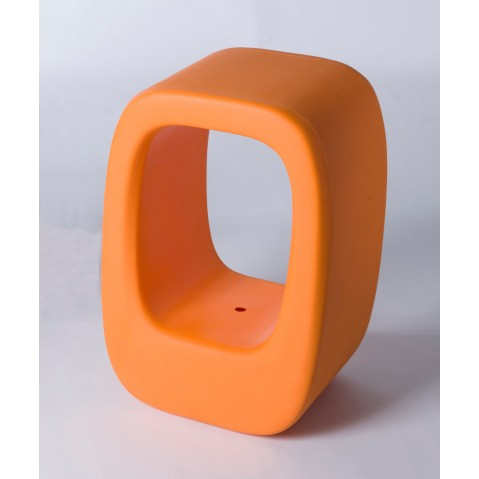 Tabouret LAZY BONES de Slide orange