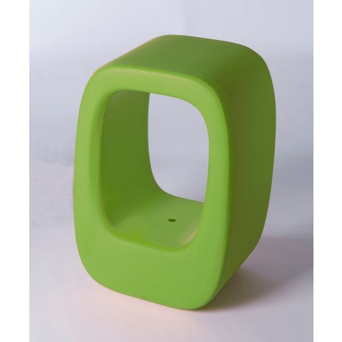 Tabouret LAZY BONES de Slide vert lime
