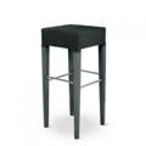 Tabourets bar Vincent Sheppard Richard Bar Stool Black wash-02