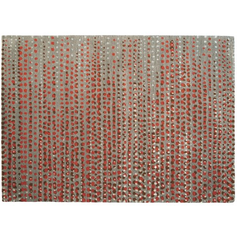 Tapis BRUME de Toulemonde Bochart, 170 x 240, Taupe rouille