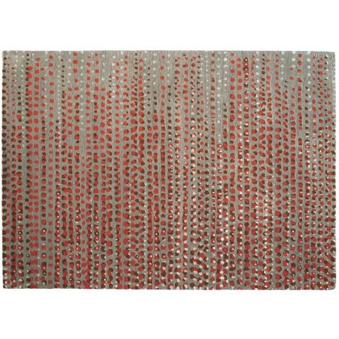 Tapis BRUME de Toulemonde Bochart, 250 x 350, Taupe rouille