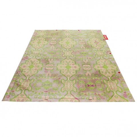 Tapis NON-FLYING CARPET de Fatboy-Vert lime -Small Persian