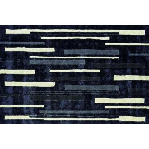 Tapis Toulemonde Bochart LINES 180 x 270 Ebène
