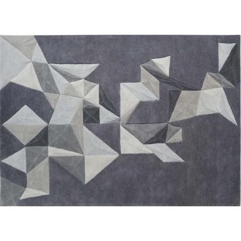 Tapis Toulemonde Bochart PLIAGES 200 x 300 Gris