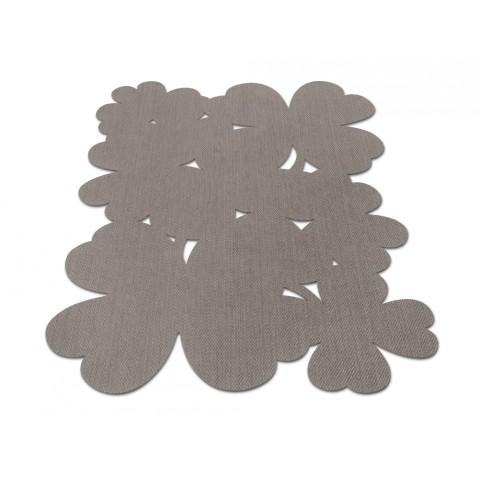 Tapis TREFLE 100 x 150 de Fermob, Taupe